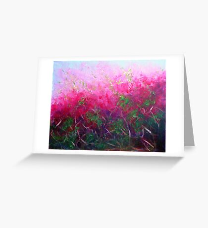 Bursting with colour Greeting Card