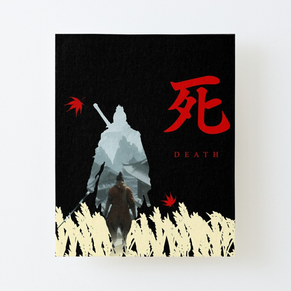 Sekiro Shadows Die Twice Art Board Print By Idlyblue Redbubble As a 3rd year and the sole member of the gardening club, sakaki is taken care of by matsumoto during his rehabilitation time until he can go back to being. sekiro shadows die twice art board print by idlyblue redbubble
