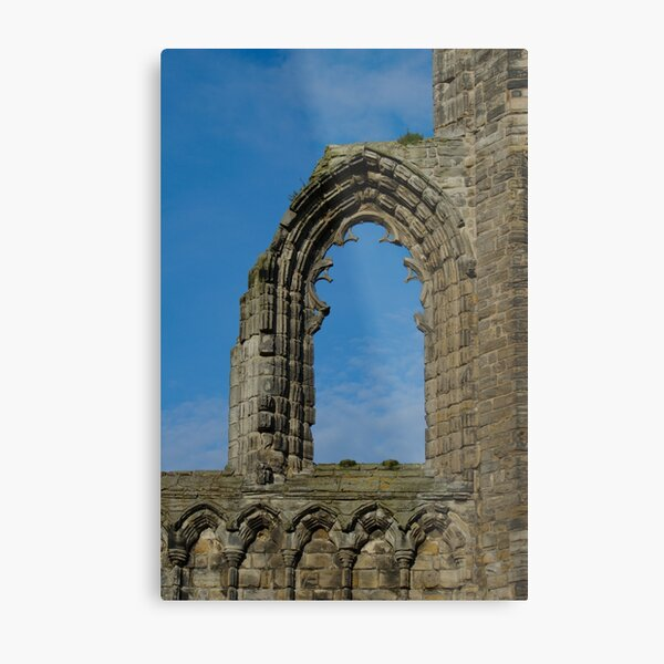 Window In St Andrews Cathedral Metal Print