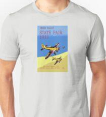 Aircraft Vintage Poster 1933 Unisex T-Shirt