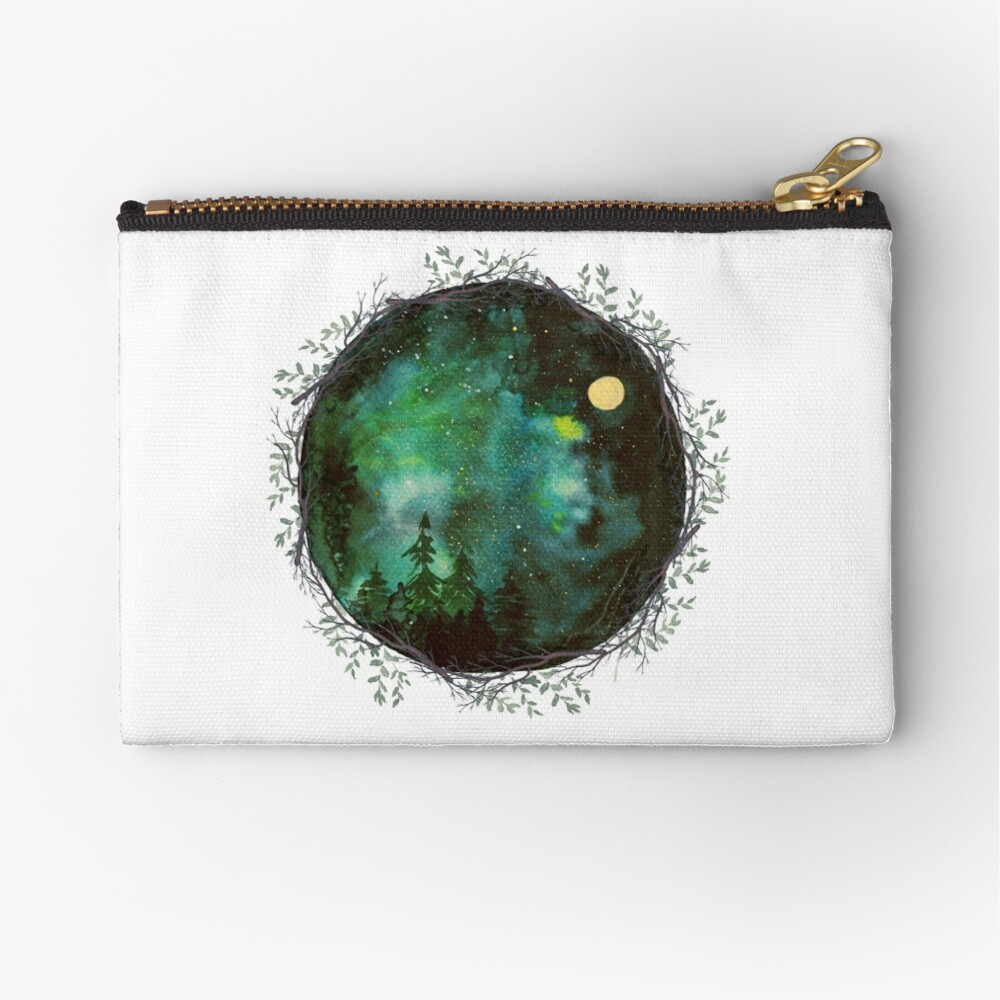 The sky at night Zipper Pouch