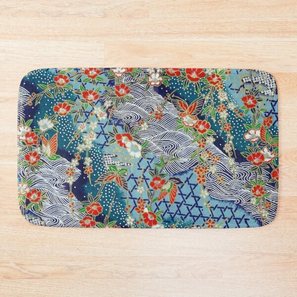 Japanese River Bath Mat