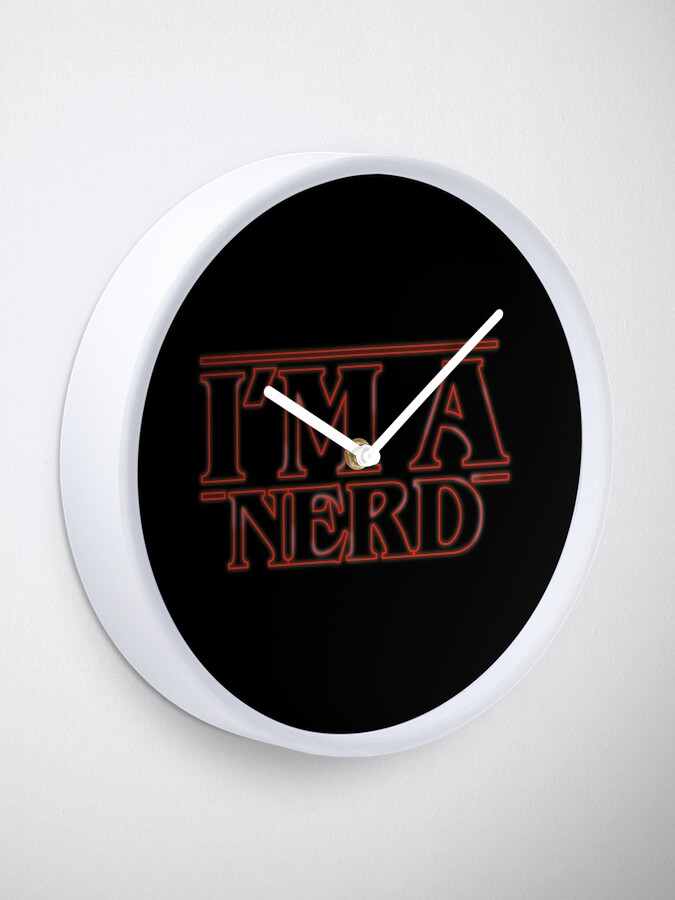 Vista alternativa de Reloj I'm a nerd