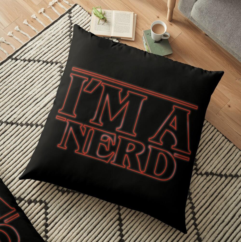 I'm a nerd Cojines de suelo