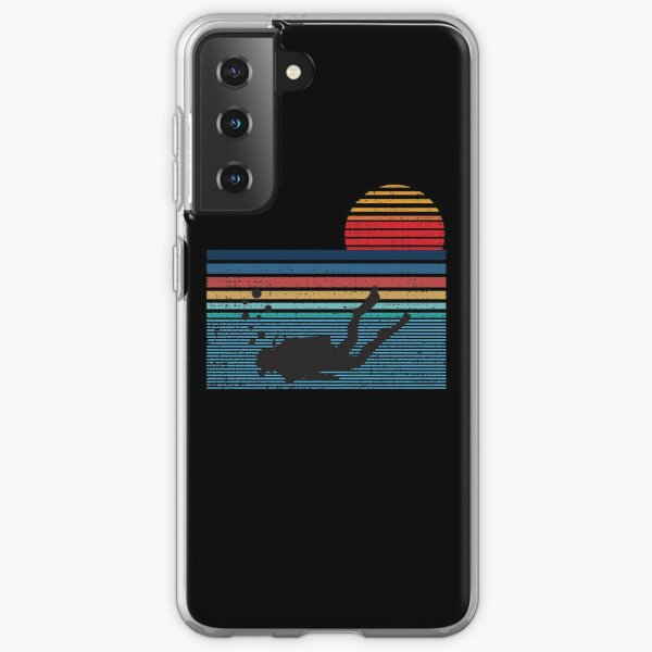 Vintage Retro Scuba Diving Gifts For Scuba Diver Samsung Galaxy Soft Case
