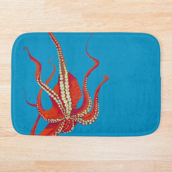 Stitches: Octopus Bath Mat