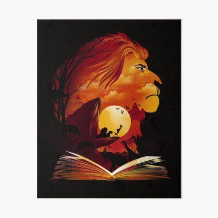 Book of Pride Rock Art Board Print