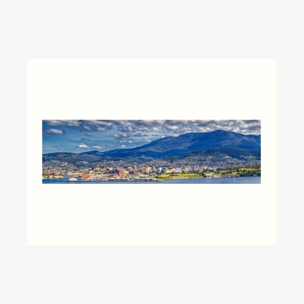 Mount Wellington Art Print