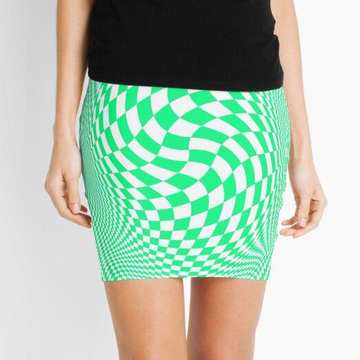 Optical #Art: Moving #Pattern #Illusion - #OpArt  Mini Skirt