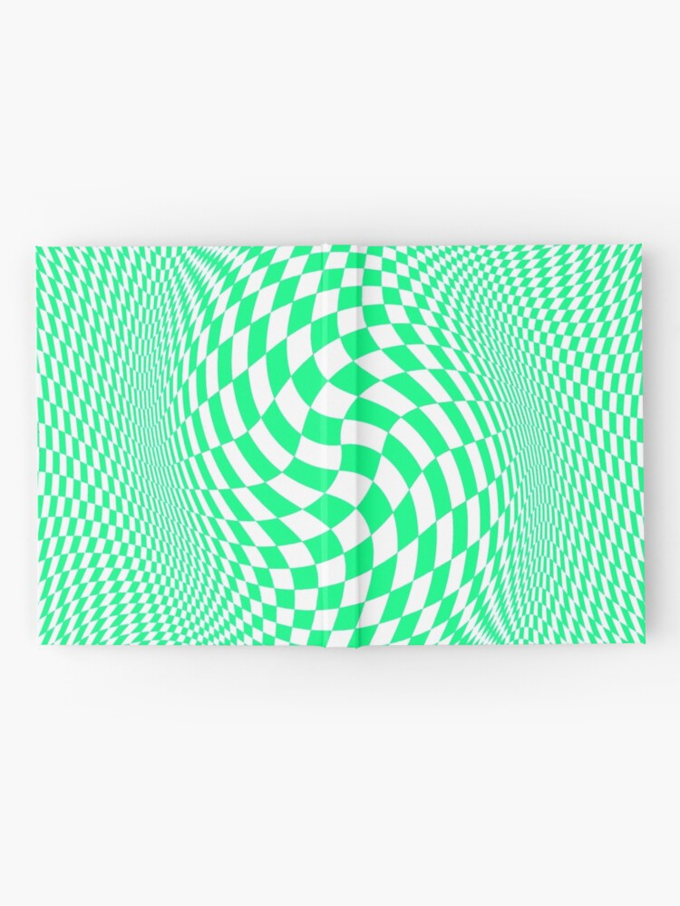 Alternate view of Optical #Art: Moving #Pattern #Illusion - #OpArt  Hardcover Journal