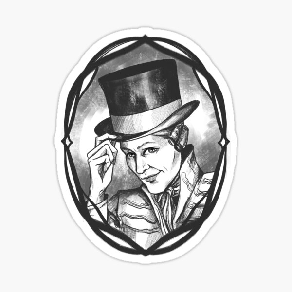 Gentleman Jack Sticker