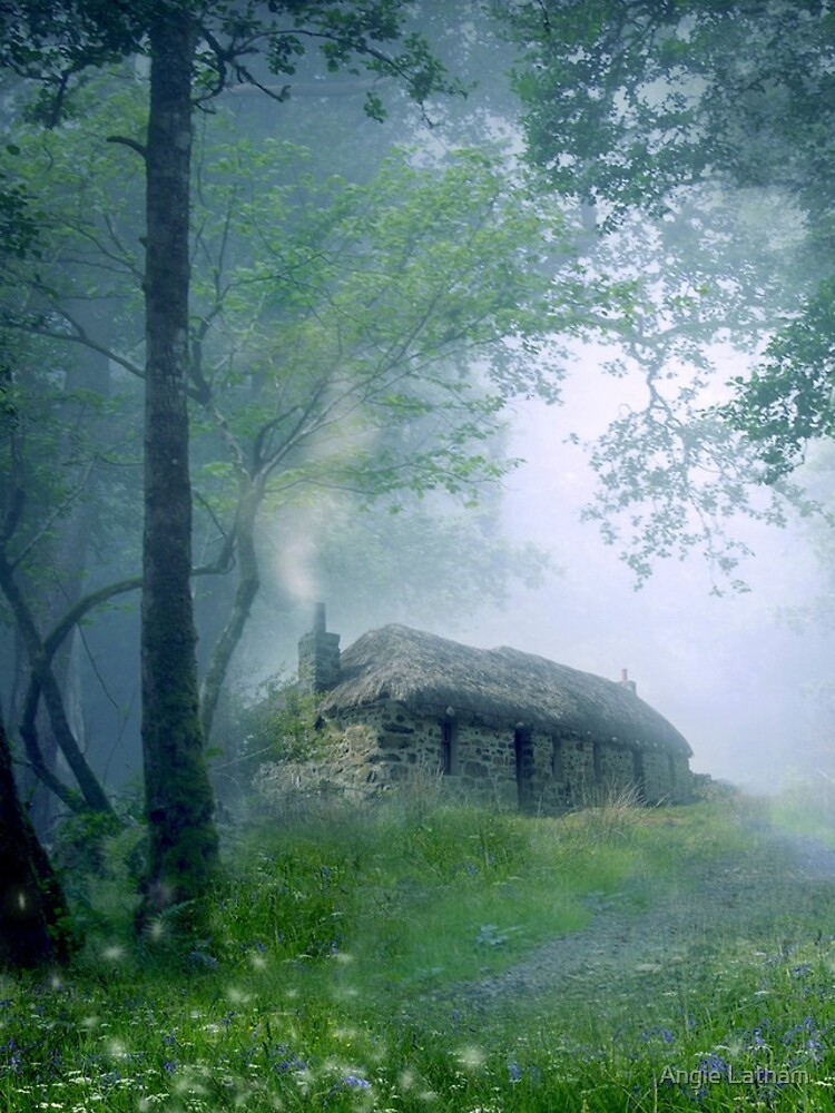 The Cottage in the Woods by AngelaBarnett