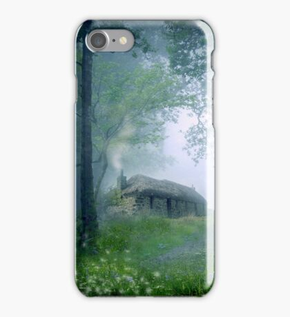 The Cottage in the Woods iPhone Case/Skin