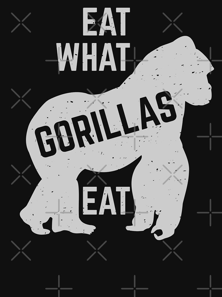 eat what gorillas eat by PlantVictorious