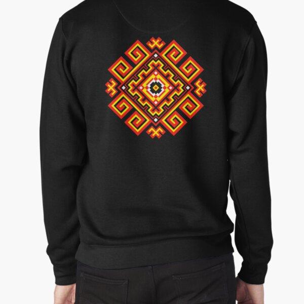 ethnic ornament Pullover Sweatshirt