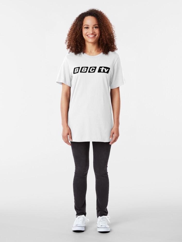 Alternate view of NDVH BBCtv Slim Fit T-Shirt
