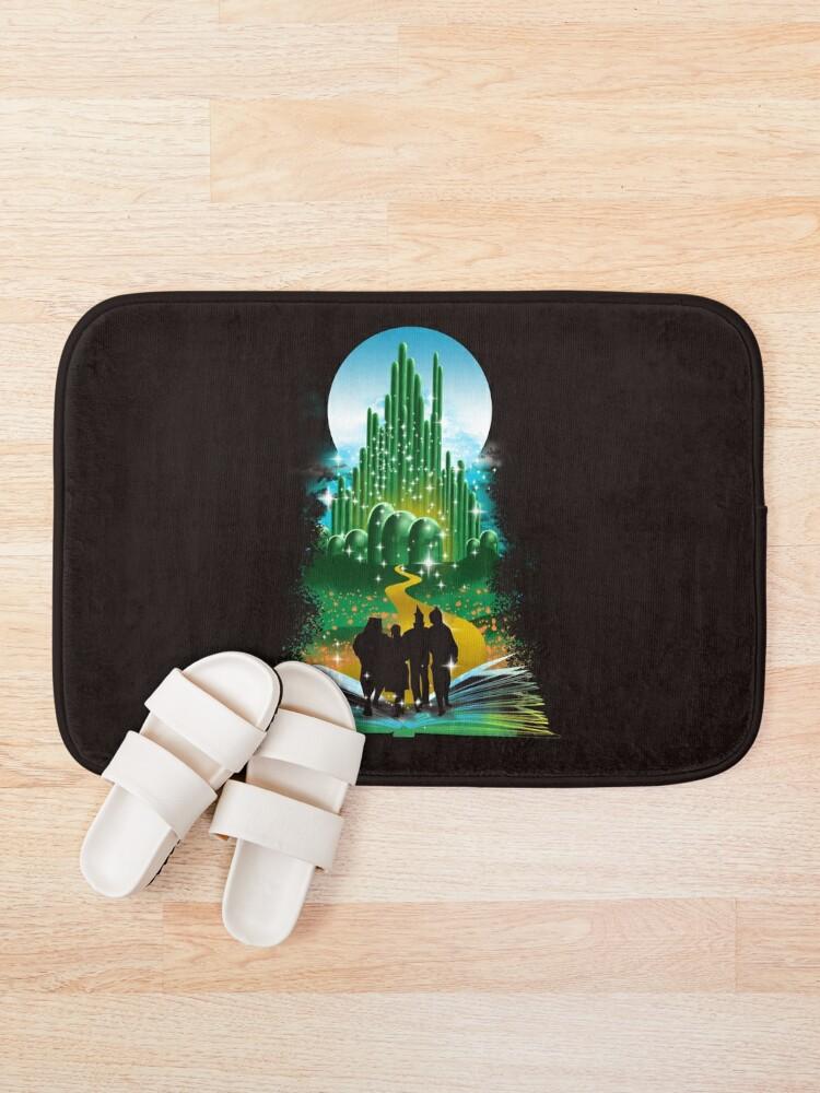 Alternate view of Book of Wizard Bath Mat