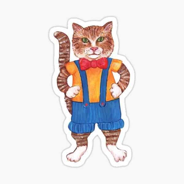 Bob the Bowtie Cat Sticker