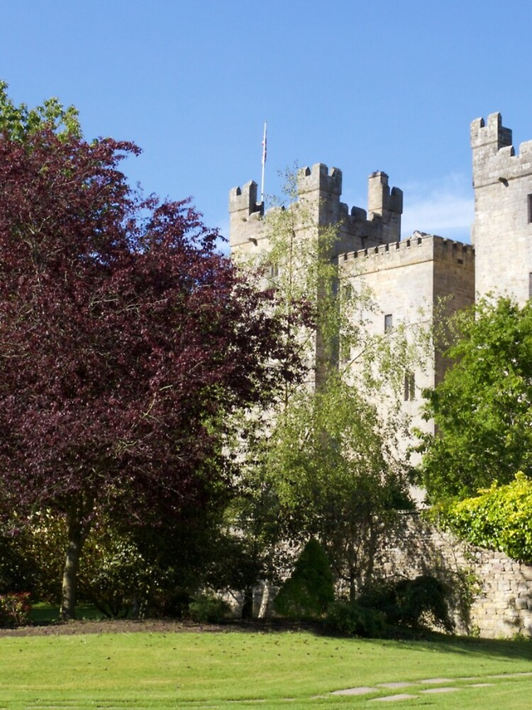 Langley Castle, Hexham, Northumberland by robcole