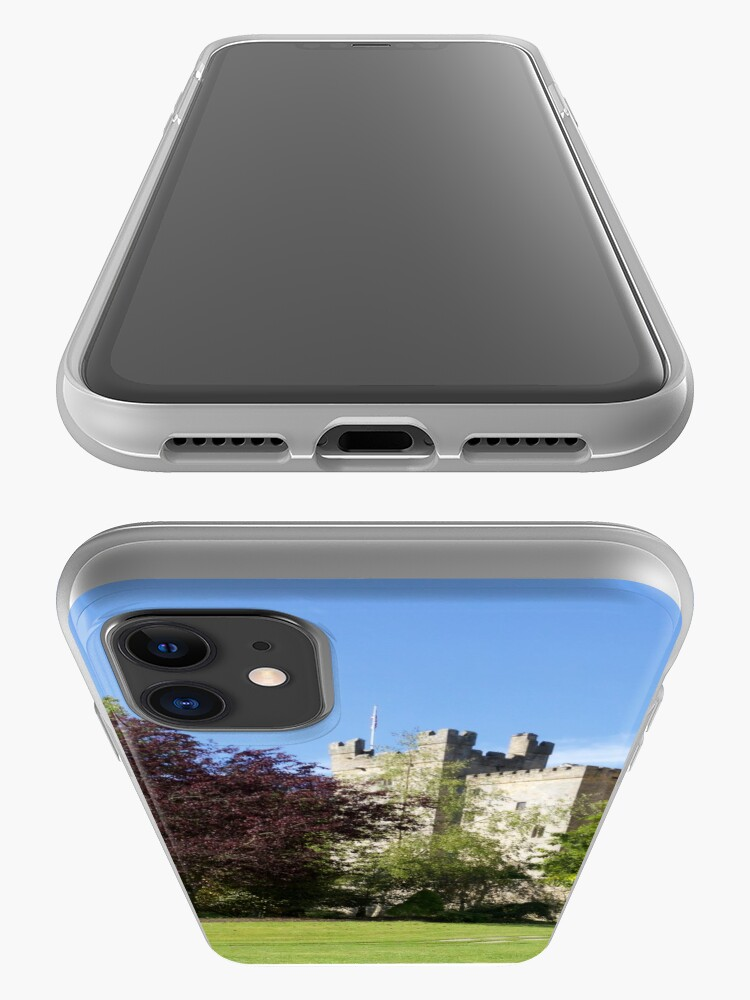 Alternate view of Langley Castle, Hexham, Northumberland iPhone Case & Cover