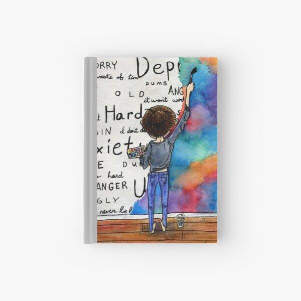 Always Keep Fighting Watercolor Painting (2015) REVAMP Hardcover Journal