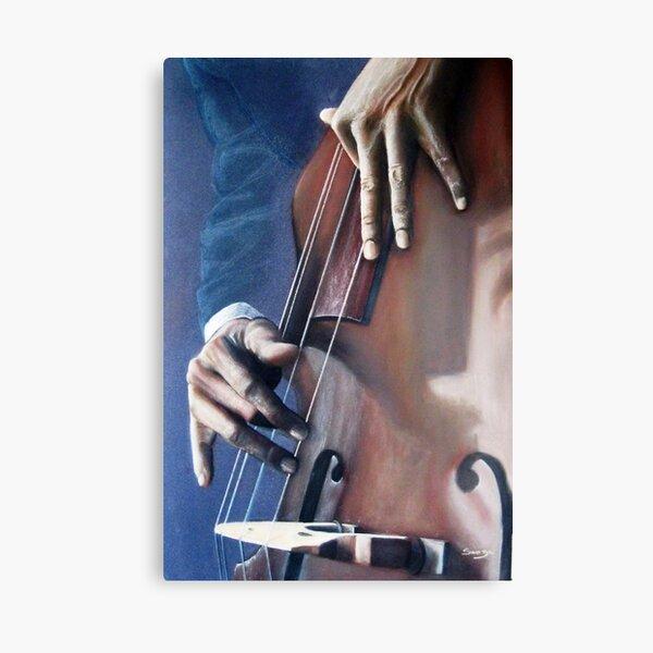 Jazzman Impression sur toile