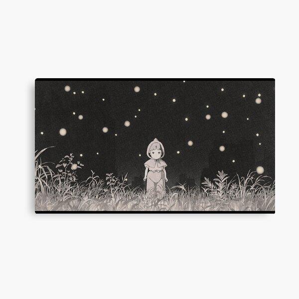 grave of the fireflies (la tumba de las luciérnagas) Canvas Print