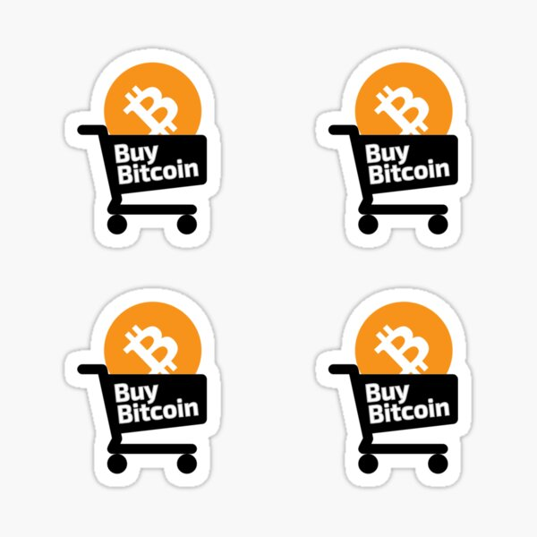 Buy Bitcoin Stickers Sticker