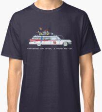 Ecto 1 - Ghostbusters Pixel Art Classic T-Shirt