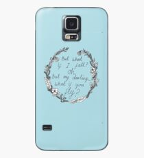 Peter Pan - What If You Fly? Case/Skin for Samsung Galaxy