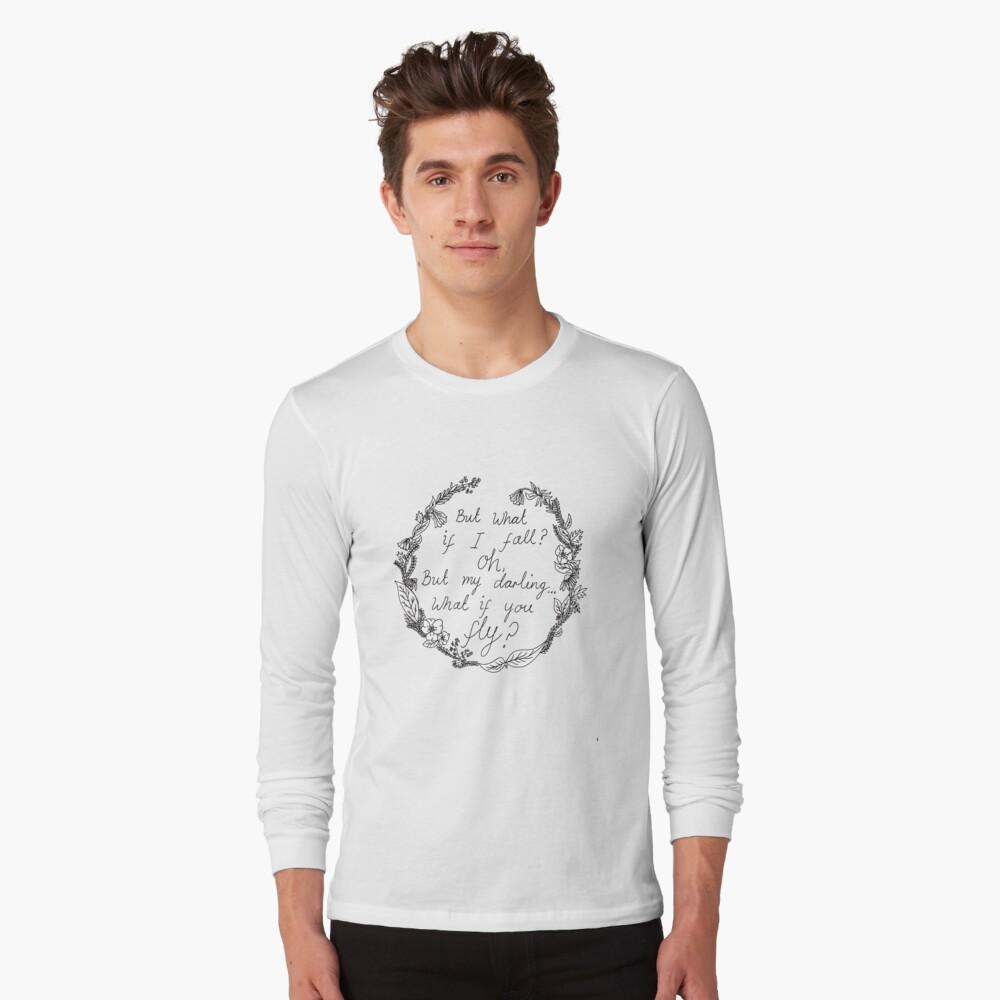 Peter Pan: ¿y si vuelas? Camiseta de manga larga