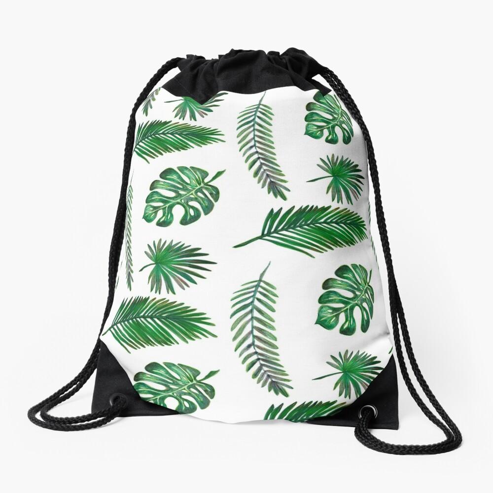 Leaf Set Drawstring Bag