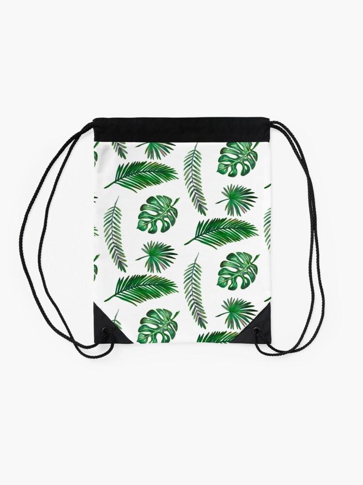 Alternate view of Leaf Set Drawstring Bag