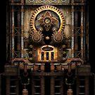 Infernal Steampunk Vintage Machine #3 by Steve Crompton
