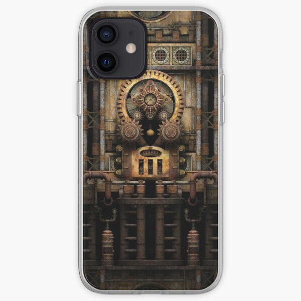 Infernal Steampunk Vintage Machine #3 iPhone Soft Case