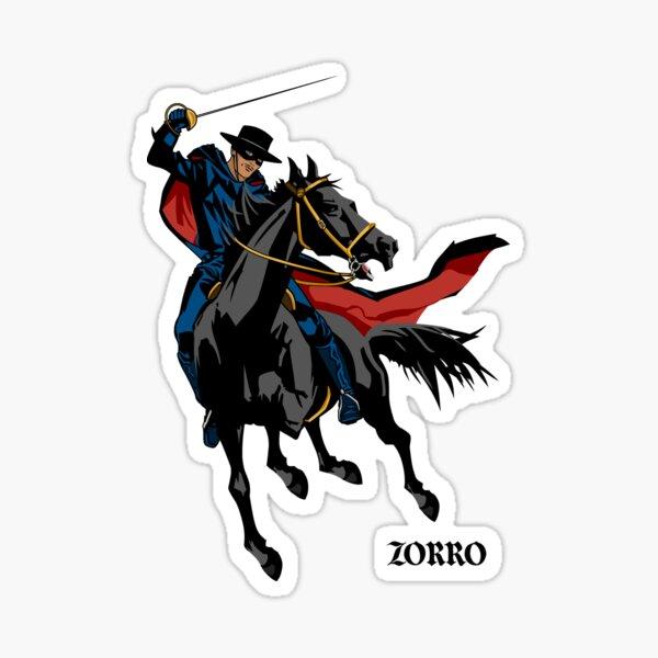 Zorro Pegatina