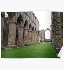 Fountains Abbey 2 Poster