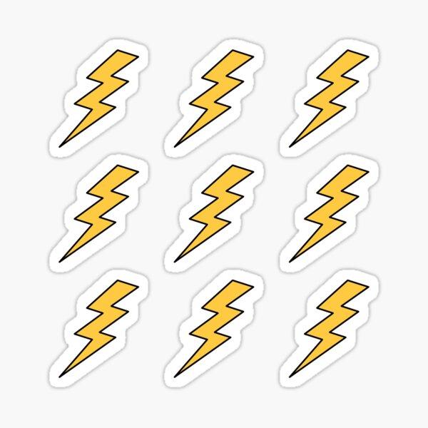 Lightening Bolt Sticker pack of stickers Sticker
