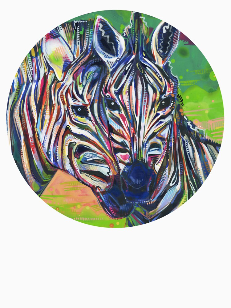 Zebras painting - 2012 by gwennpaints