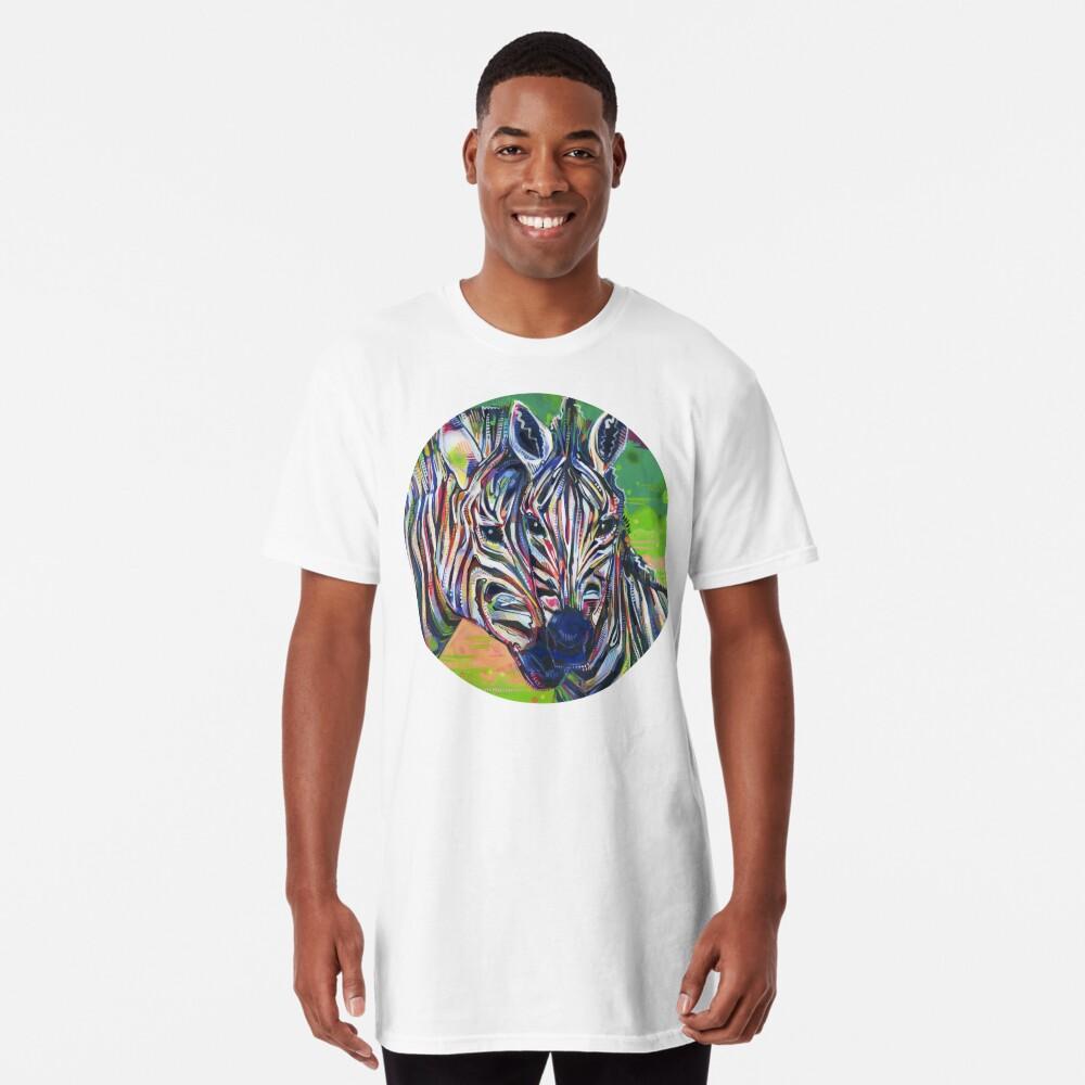 Zebras painting - 2012 Long T-Shirt