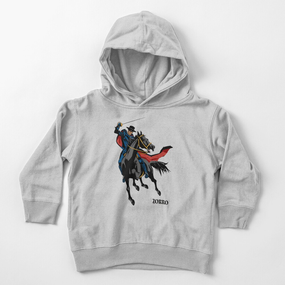 Zorro Toddler Pullover Hoodie