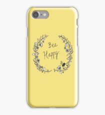 Bee Happy iPhone Case/Skin