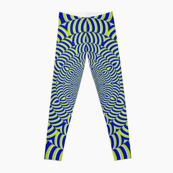 Optical #Art: Moving #Pattern #Illusion - #OpArt  Leggings