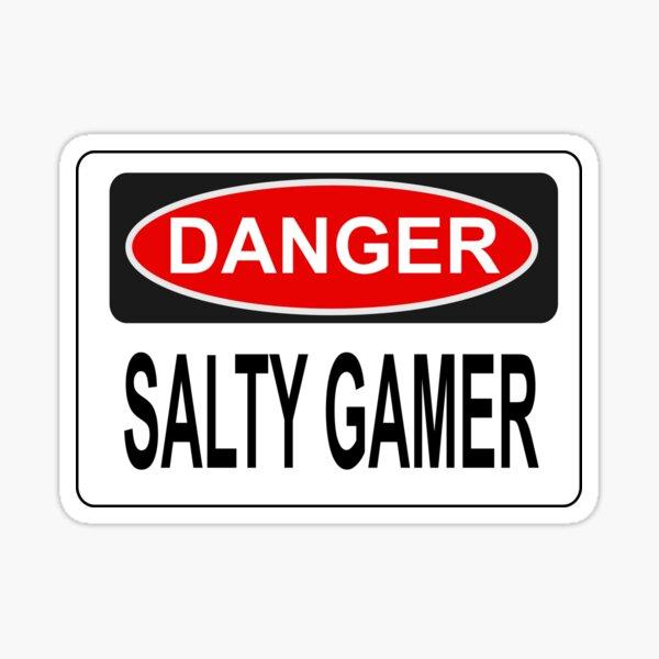 SALTY by die|site Sticker