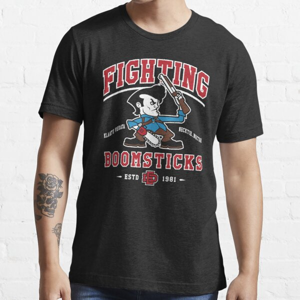 Fighting Boomsticks - Evil Dead - Horror - College Mascot Essential T-Shirt