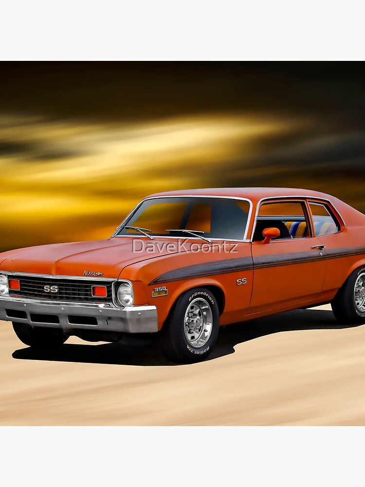 1973 Chevrolet Nova SS by DaveKoontz