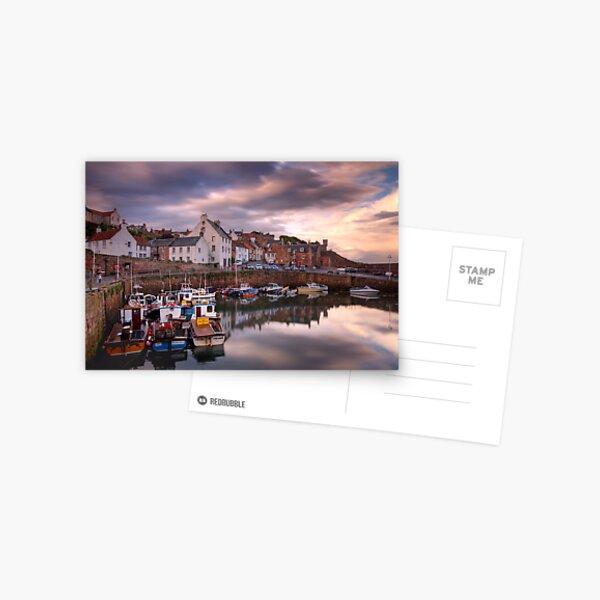 Crail Harbour Postcard