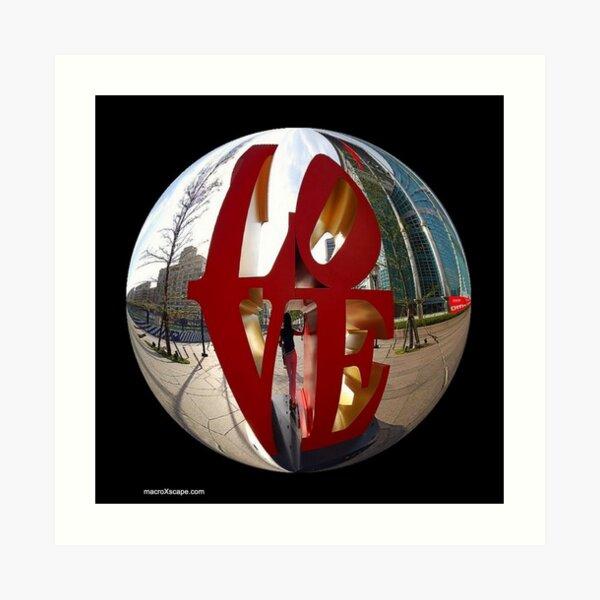 A Ball of Love Art Print
