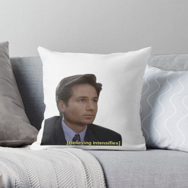 Believing Intensifies Throw Pillow