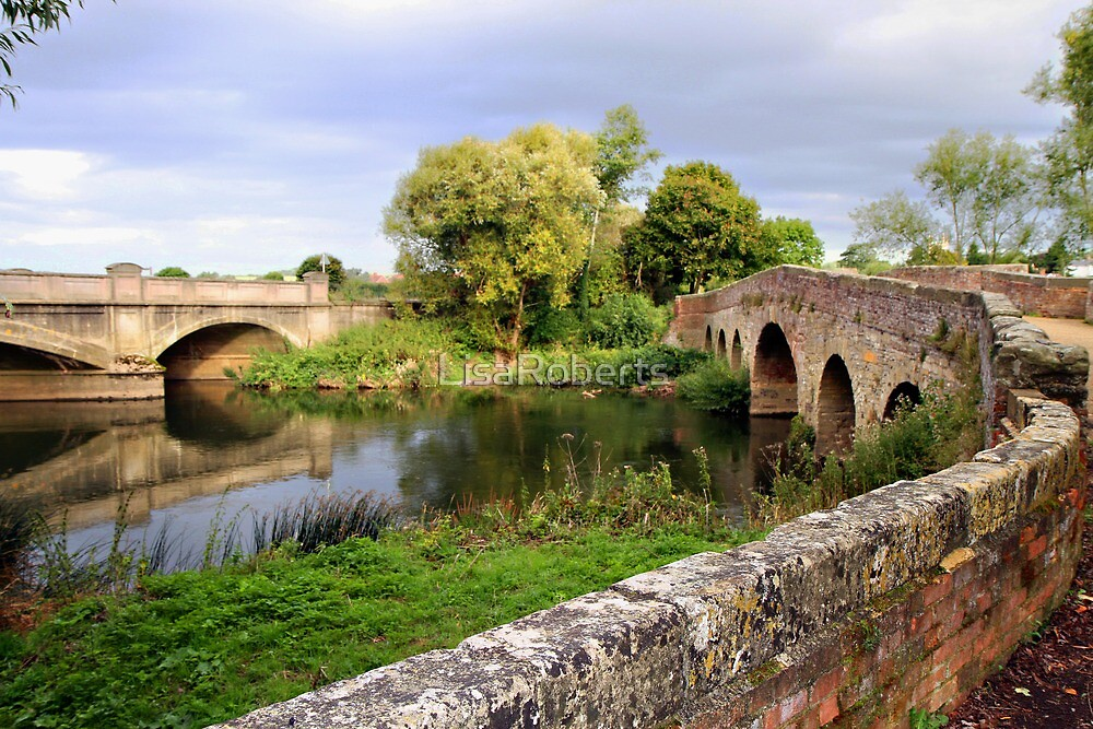 Quot River Avon Pershore Worcestershire Quot By Lisaroberts
